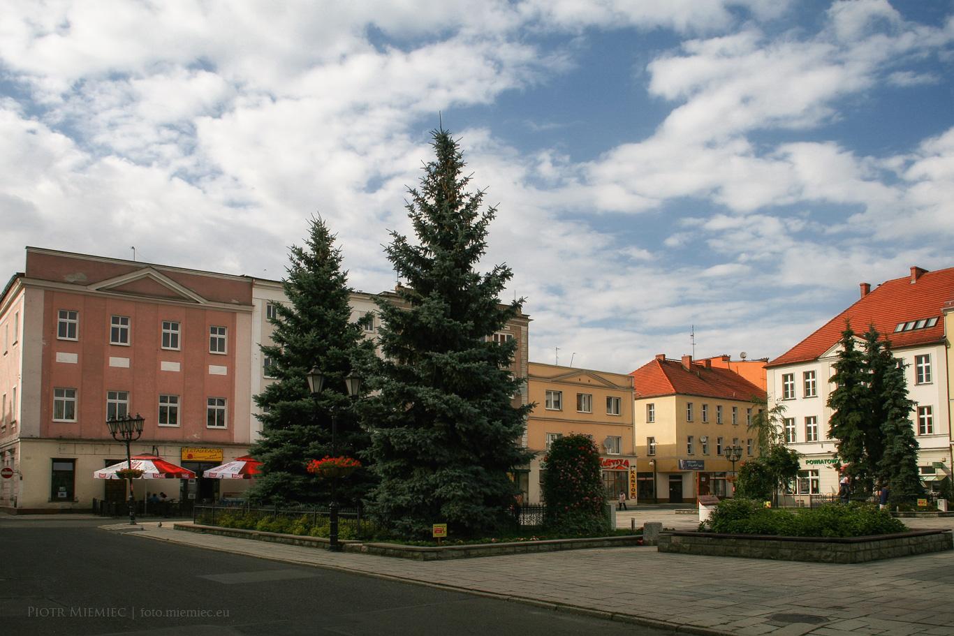 Rynek w Koźlu – lipiec 2012