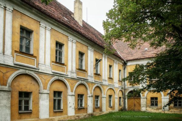 Zamek w Białej – wrzesień 2012