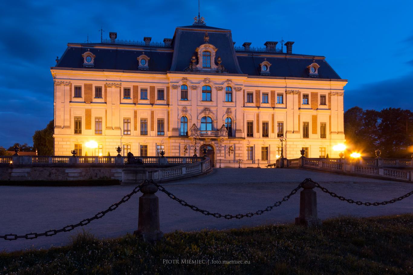 Pałac i park w Pszczynie