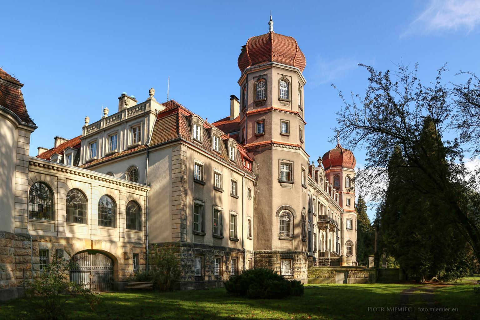 Pałac w Brynku