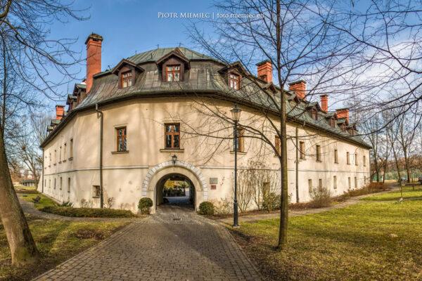 Zamek w Kończycach Małych – luty 2016