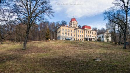 Pałac w Kończycach Wielkich – luty 2016