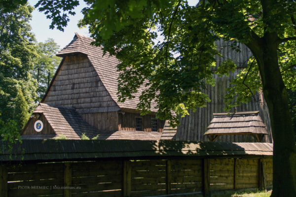 Drewniany kościół w Katowicach