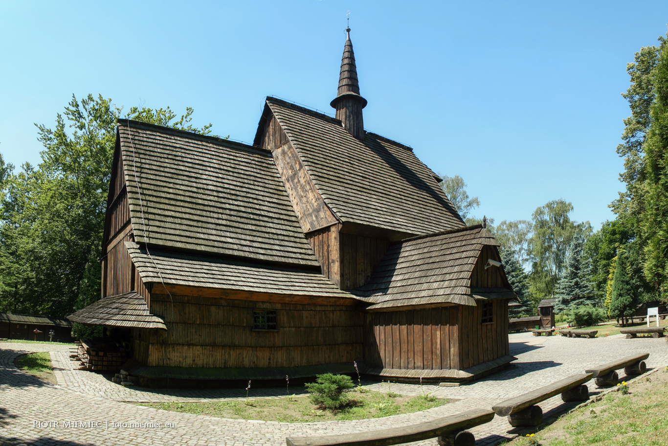 Katowice drewniany kościół - 7