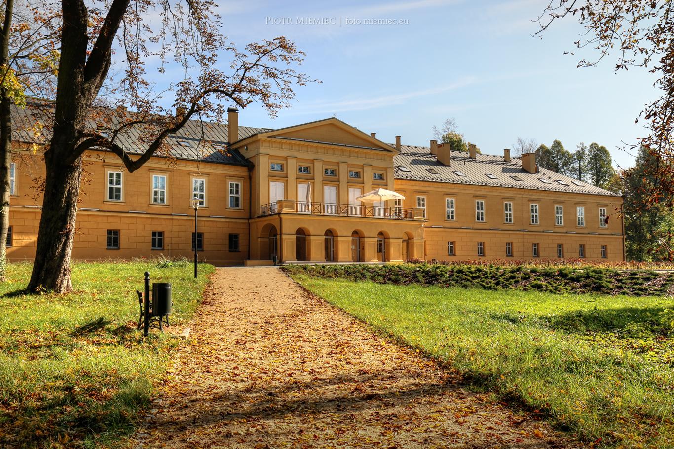 Pałac i park w Koszęcinie