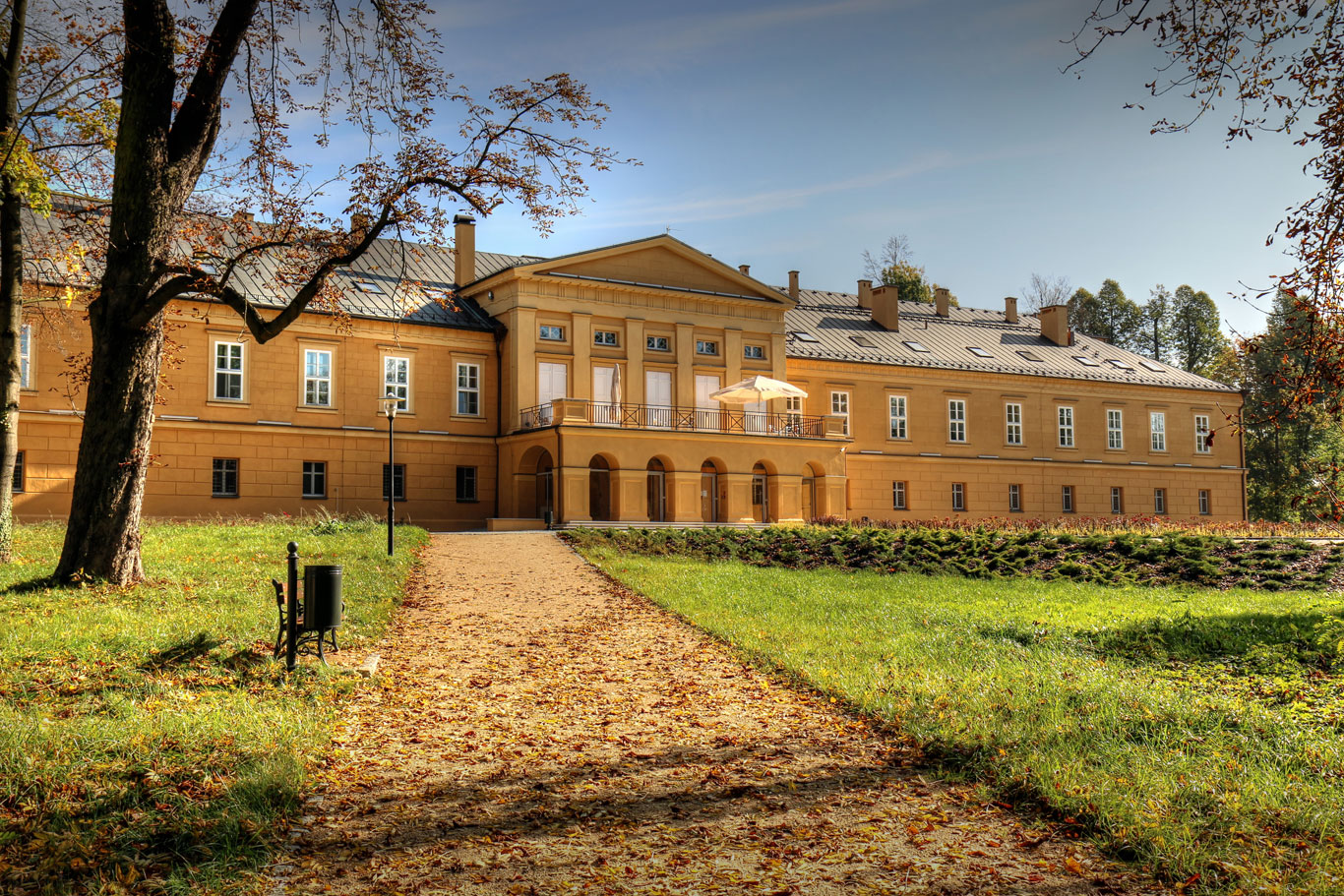 Koszęcin pałac 1