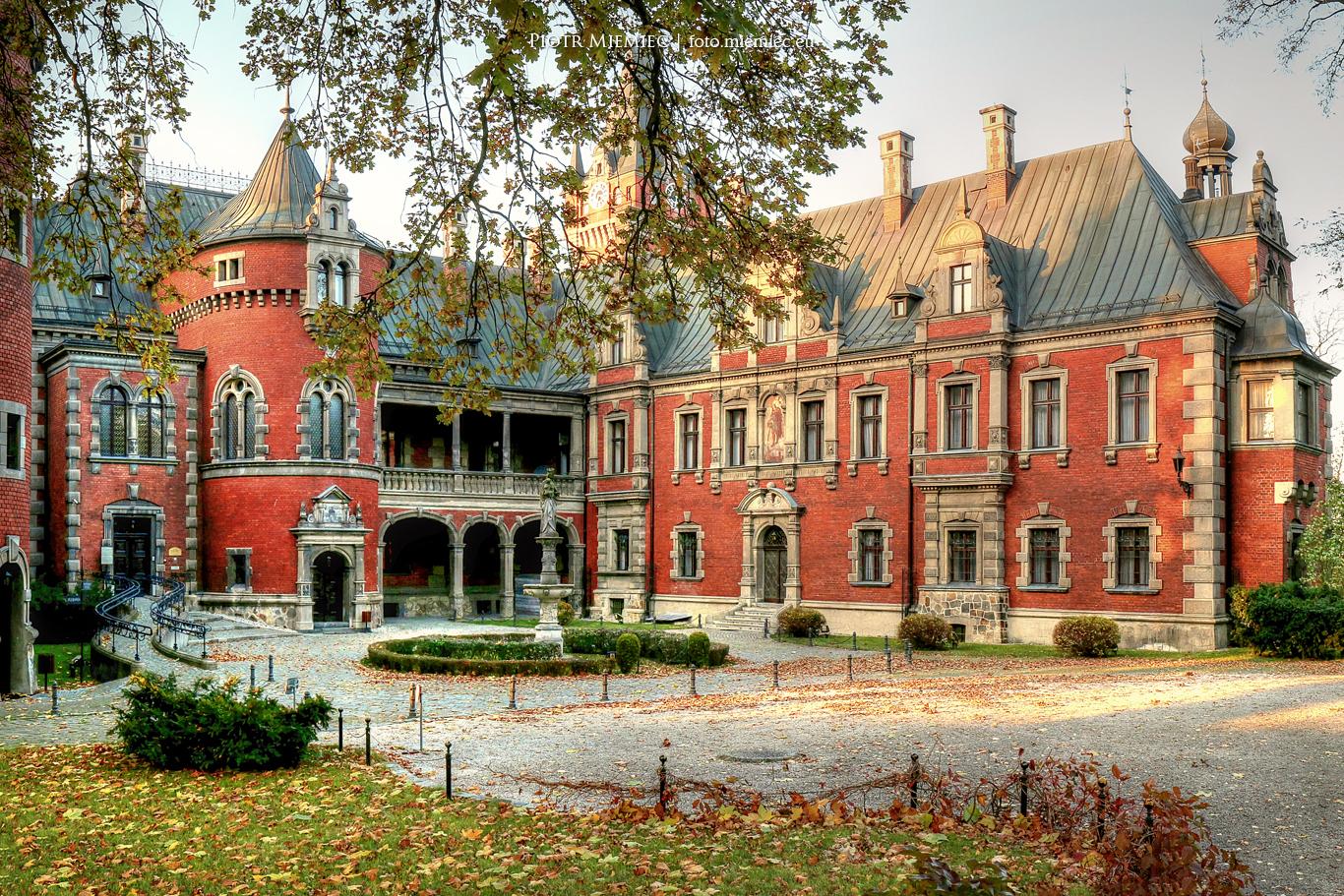 pałace na śląsku Pałac w Pławniowicach