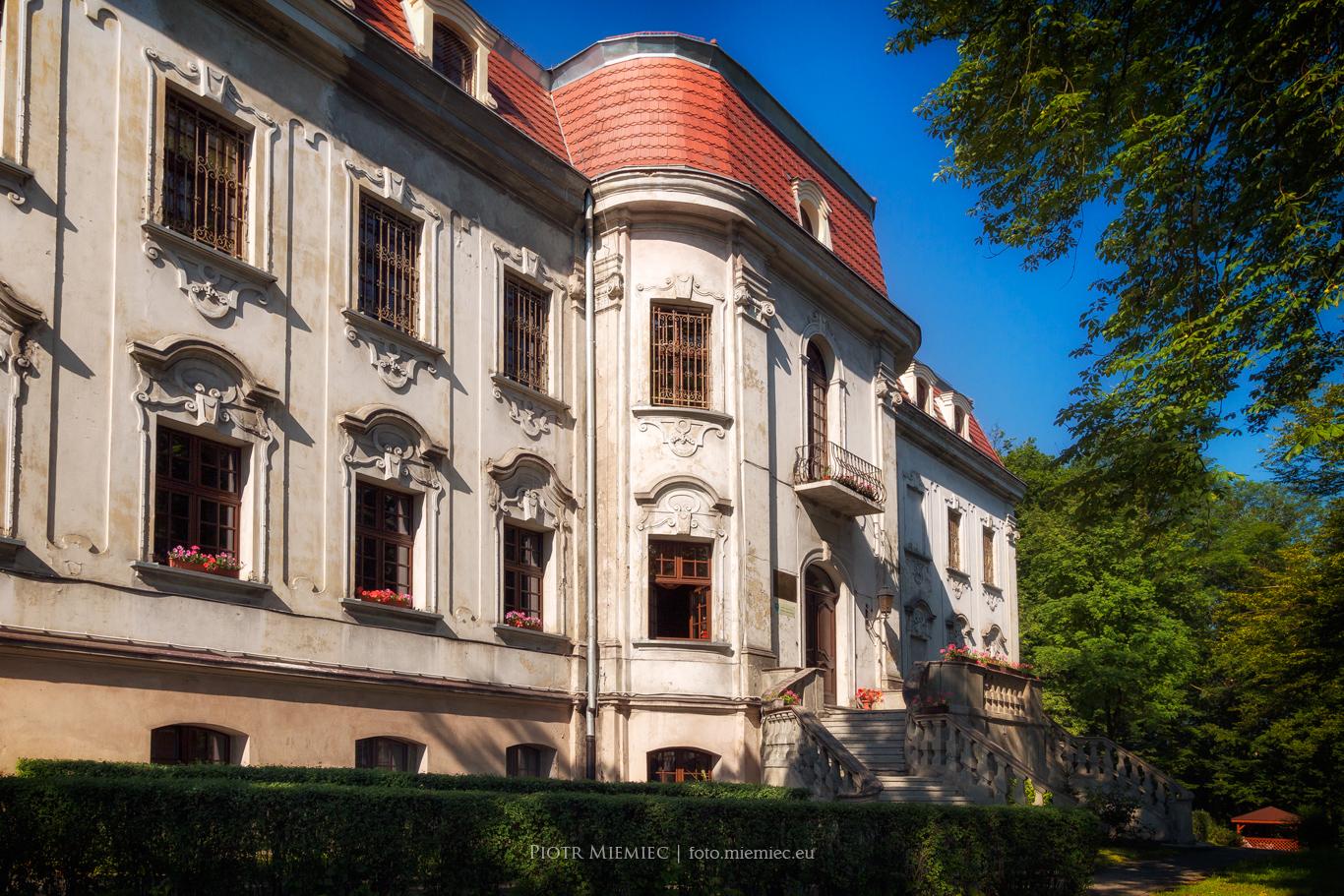 Sośnicowice pałac 1