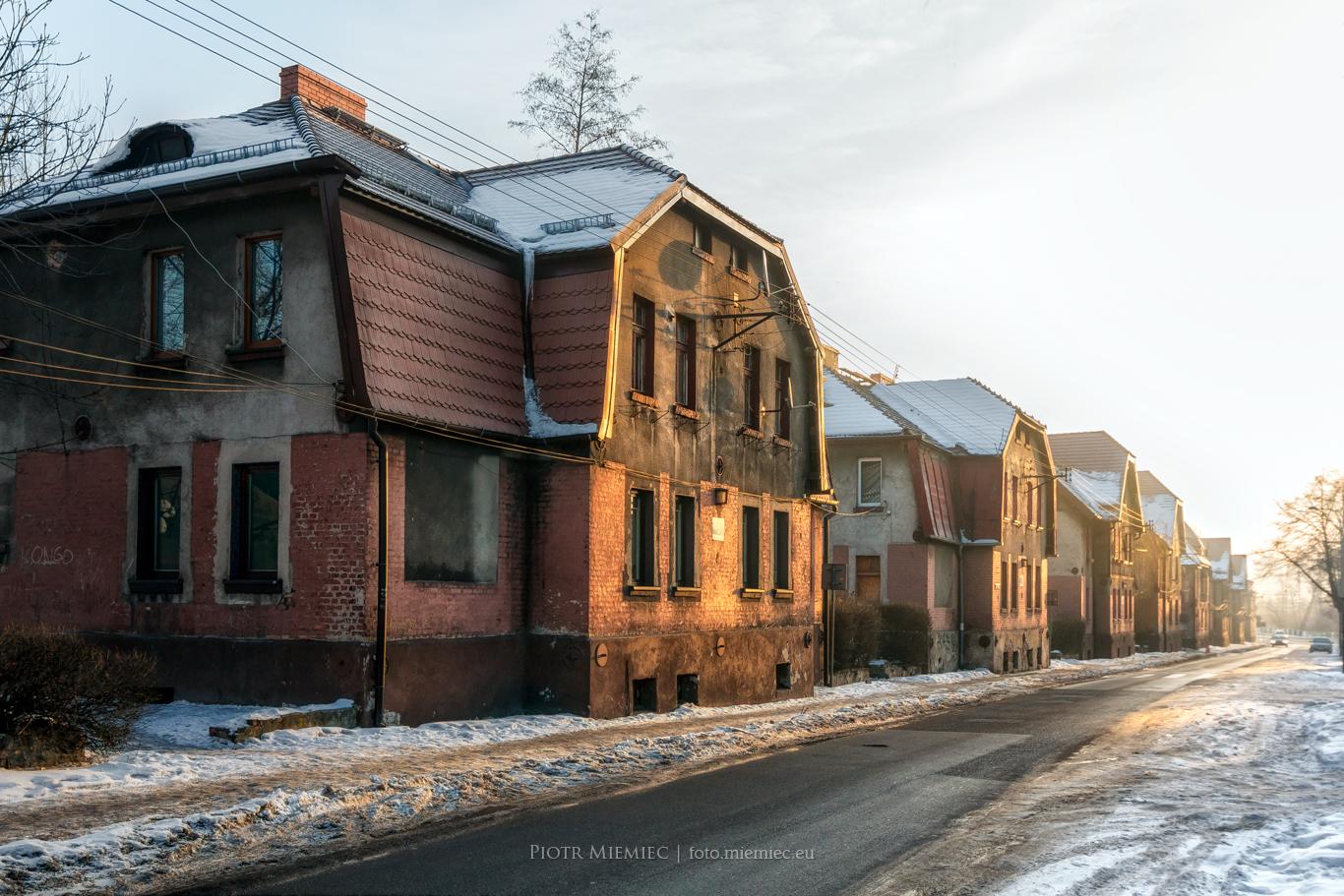 Osiedle robotnicze w Bytomiu Bobrku