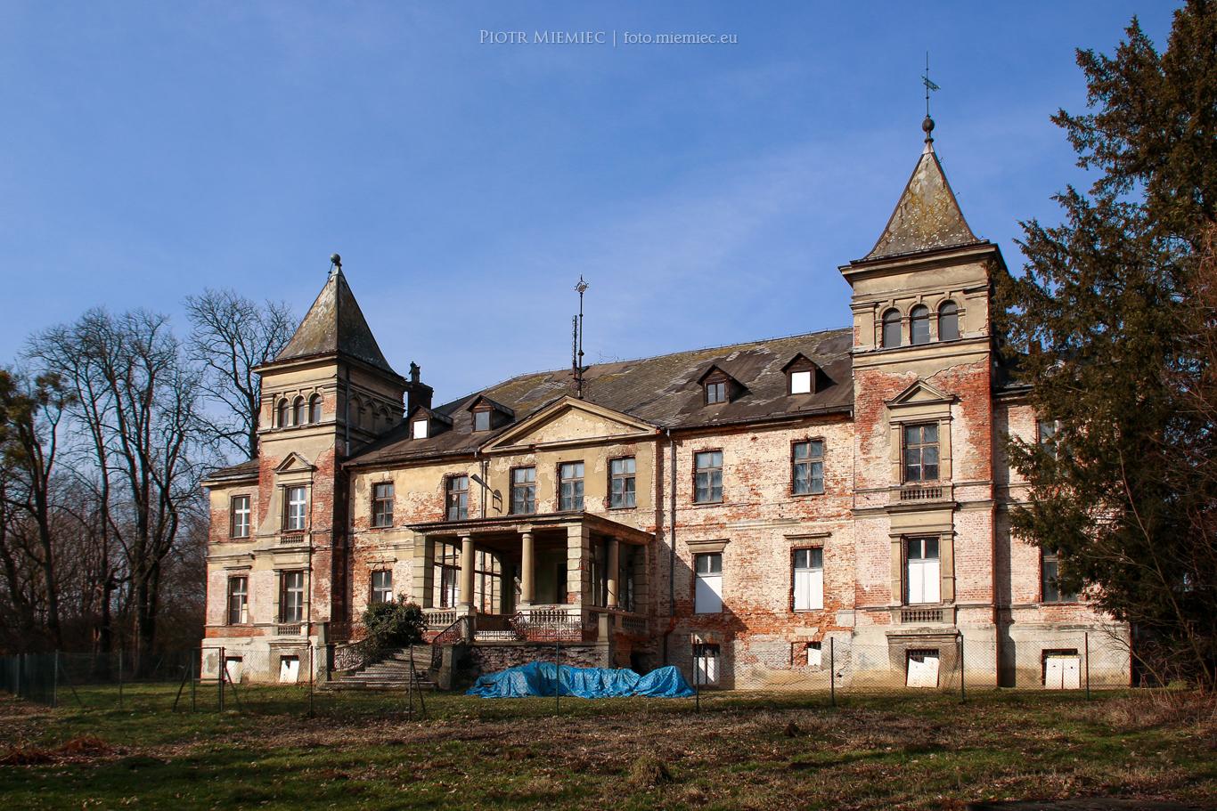 Czerwięcice pałac 1