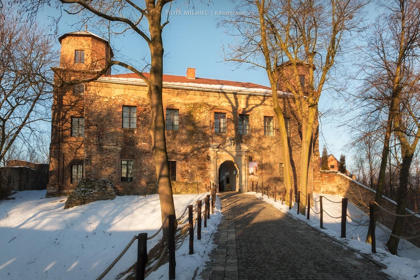 Zamek Toszek – styczeń 2017