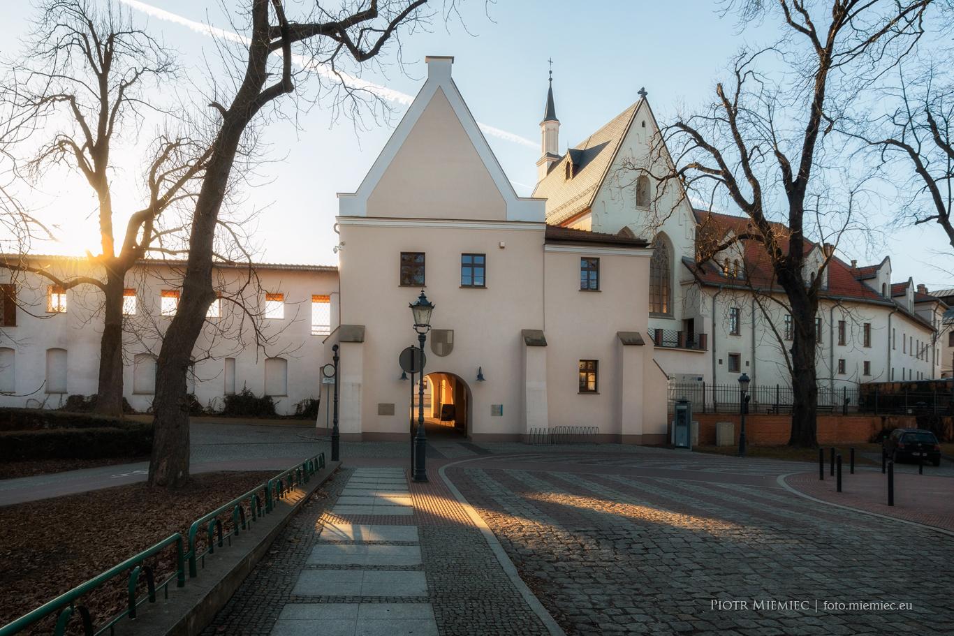 Zamek w Raciborzu -Widok od strony wschodniej