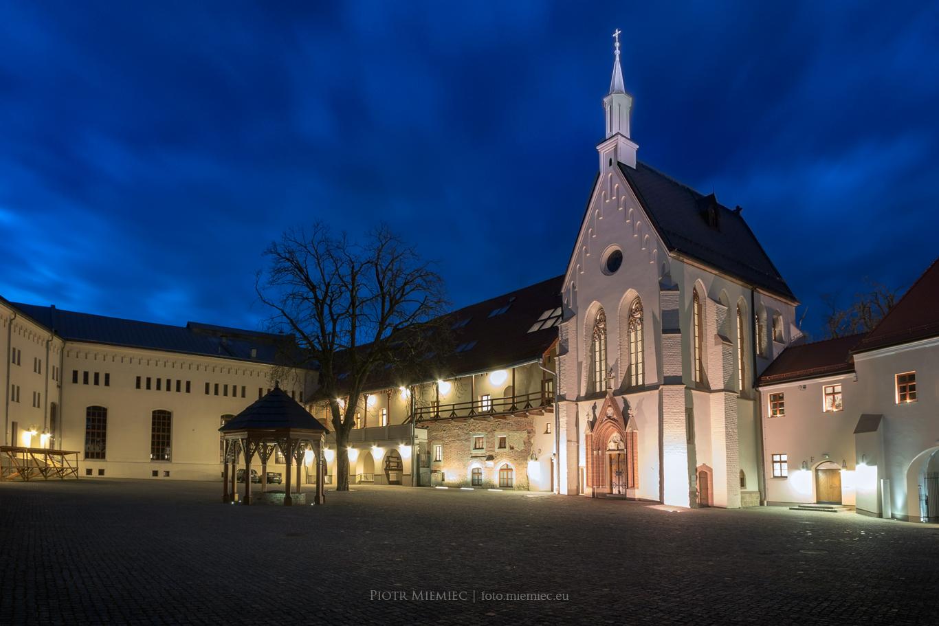 Zamek w Raciborzu - wieczór