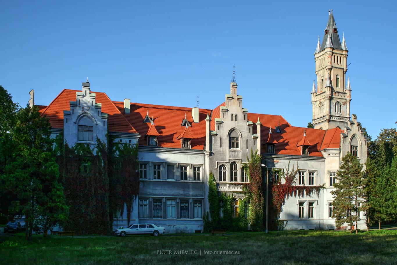Henckel von Donnersmarck Pałac w Nakle Śląskim