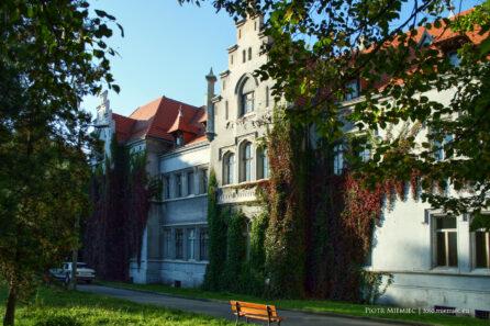 Pałac w Nakle Śl. – wrzesień 2007