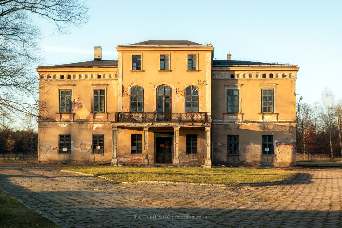 Pałac w Zielonej – marzec 2017