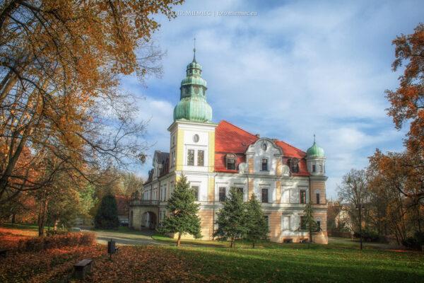 Pałac w Kamieńcu – listopad 2012