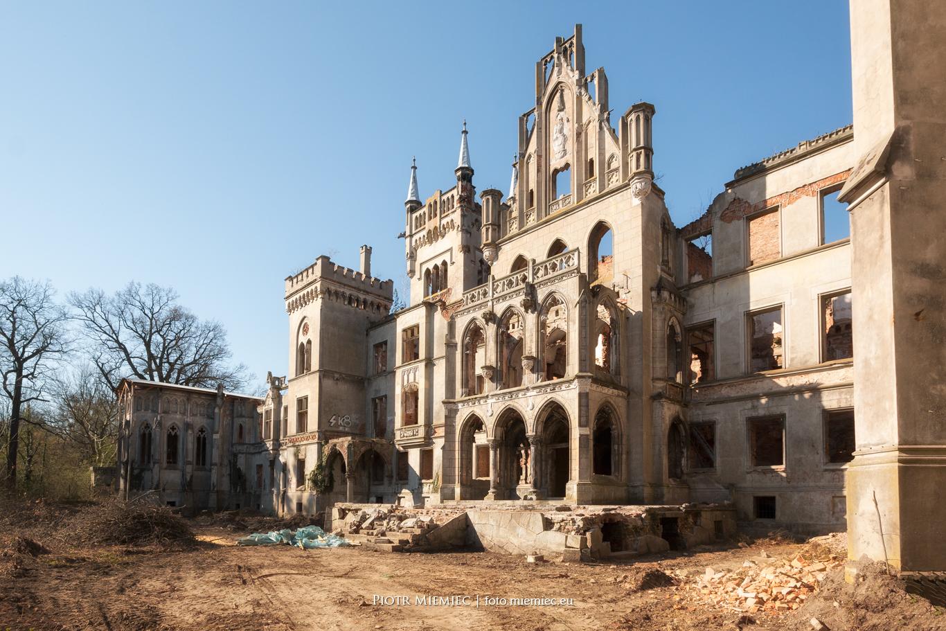 Pałac Kopice – kwiecień 2017
