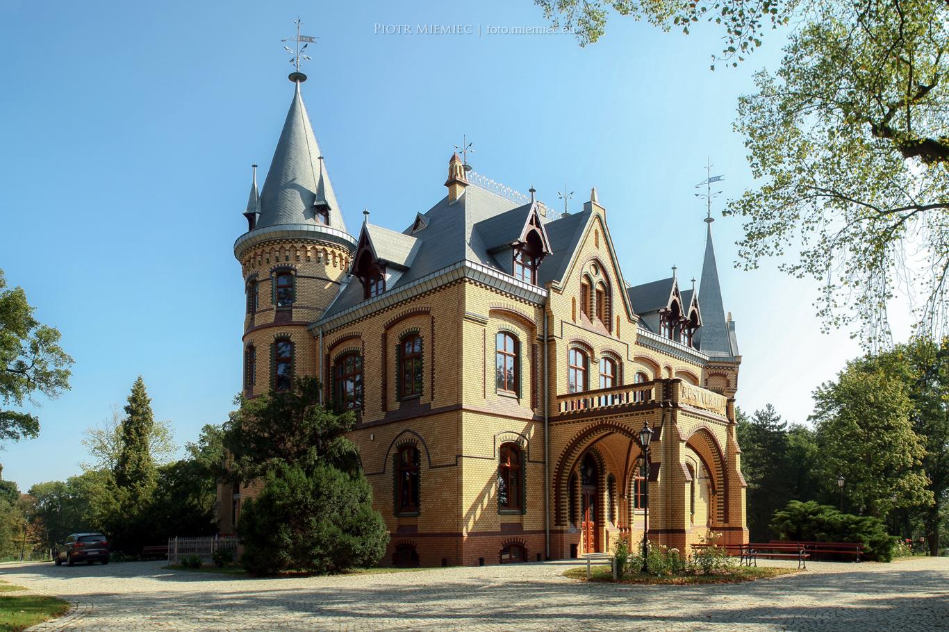 Pałac w Większycach