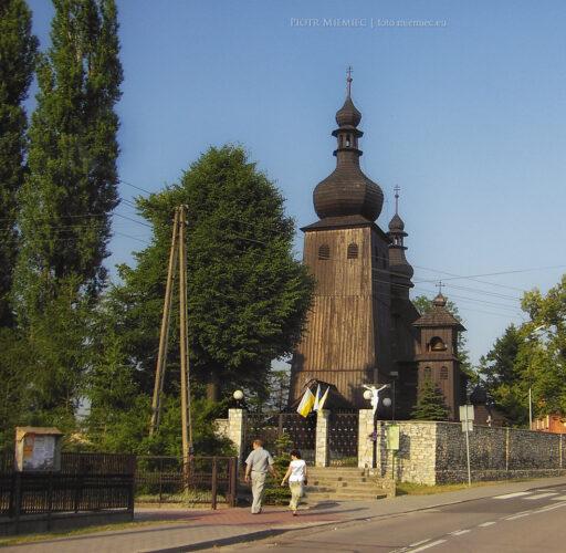 Drewniany kościół w Paniowach