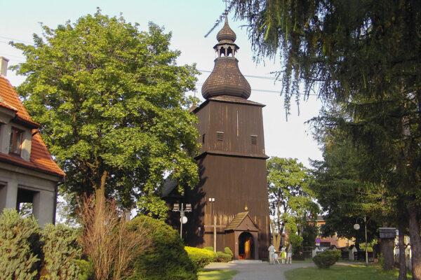 Kościół w Borowej Wsi – czerwiec 2006
