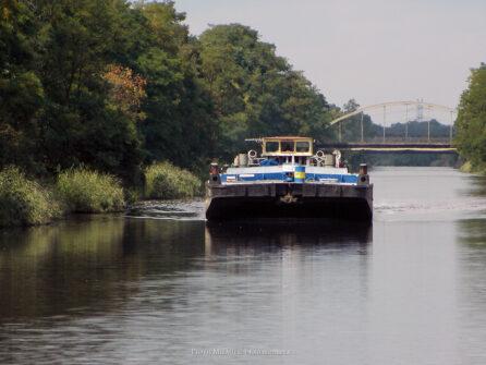 Statkiem po Kanale Gliwickim – sierpień 2006
