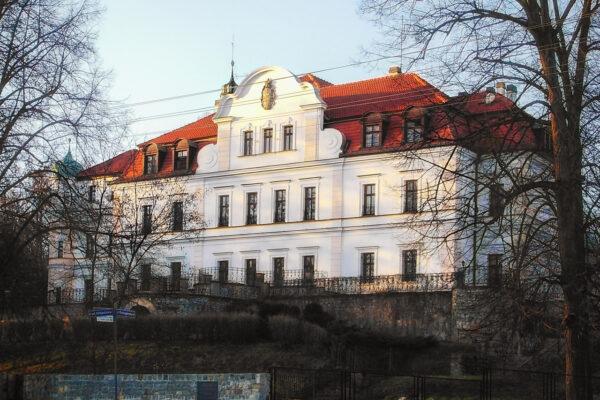 Pałac w Kamieńcu – marzec 2006