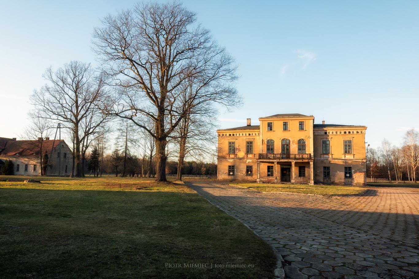 Pałac w Zielonej