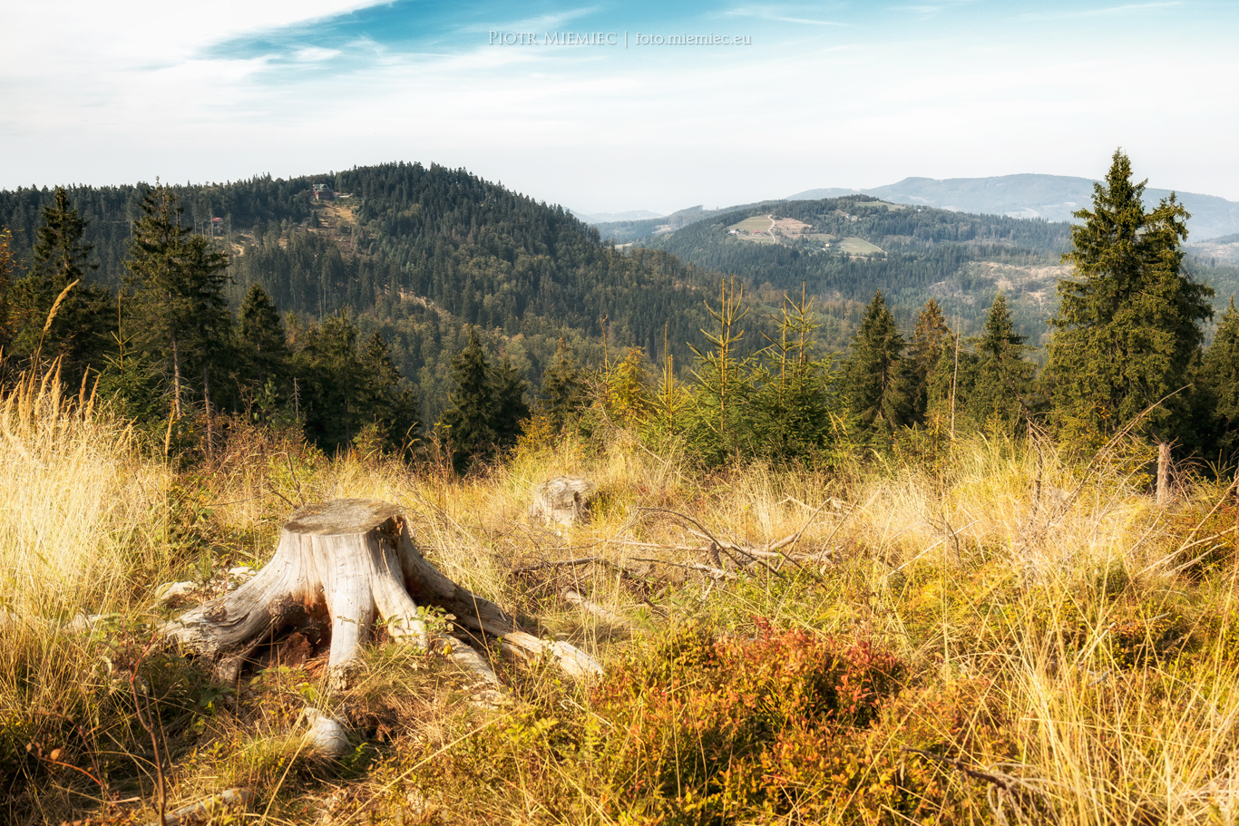 Beskid Śląski – październik 2015