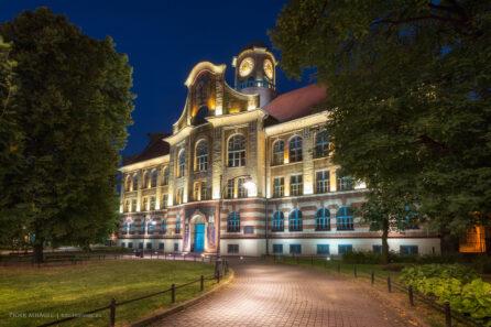 Budynek IV Liceum w Bytomiu.