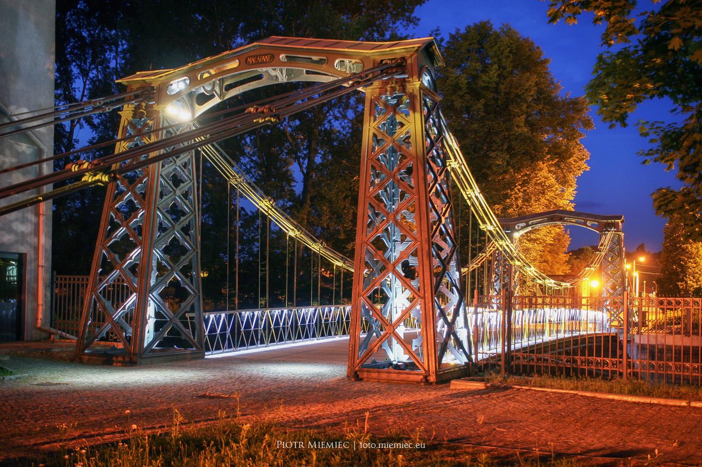 Most wiszący w Ozimku