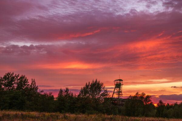 Szyb kopalni Ludwik – wrzesień 2015