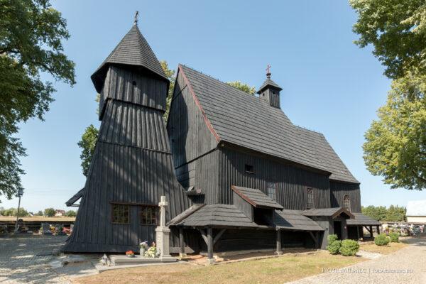 Drewniany kościół w Bojszowie