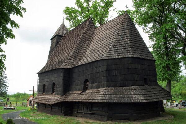 Kościół w Zacharzowicach – maj 2008
