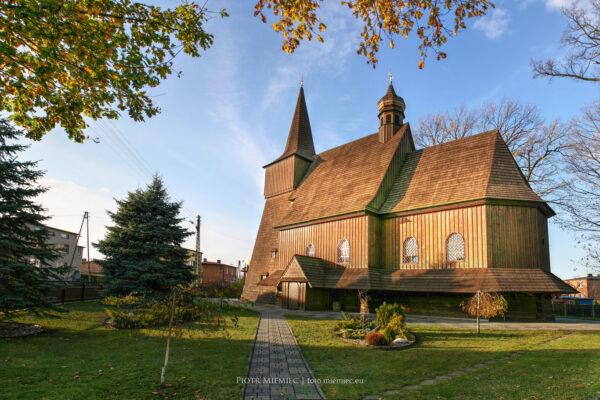 Kościół w Wilczej – listopad 2013