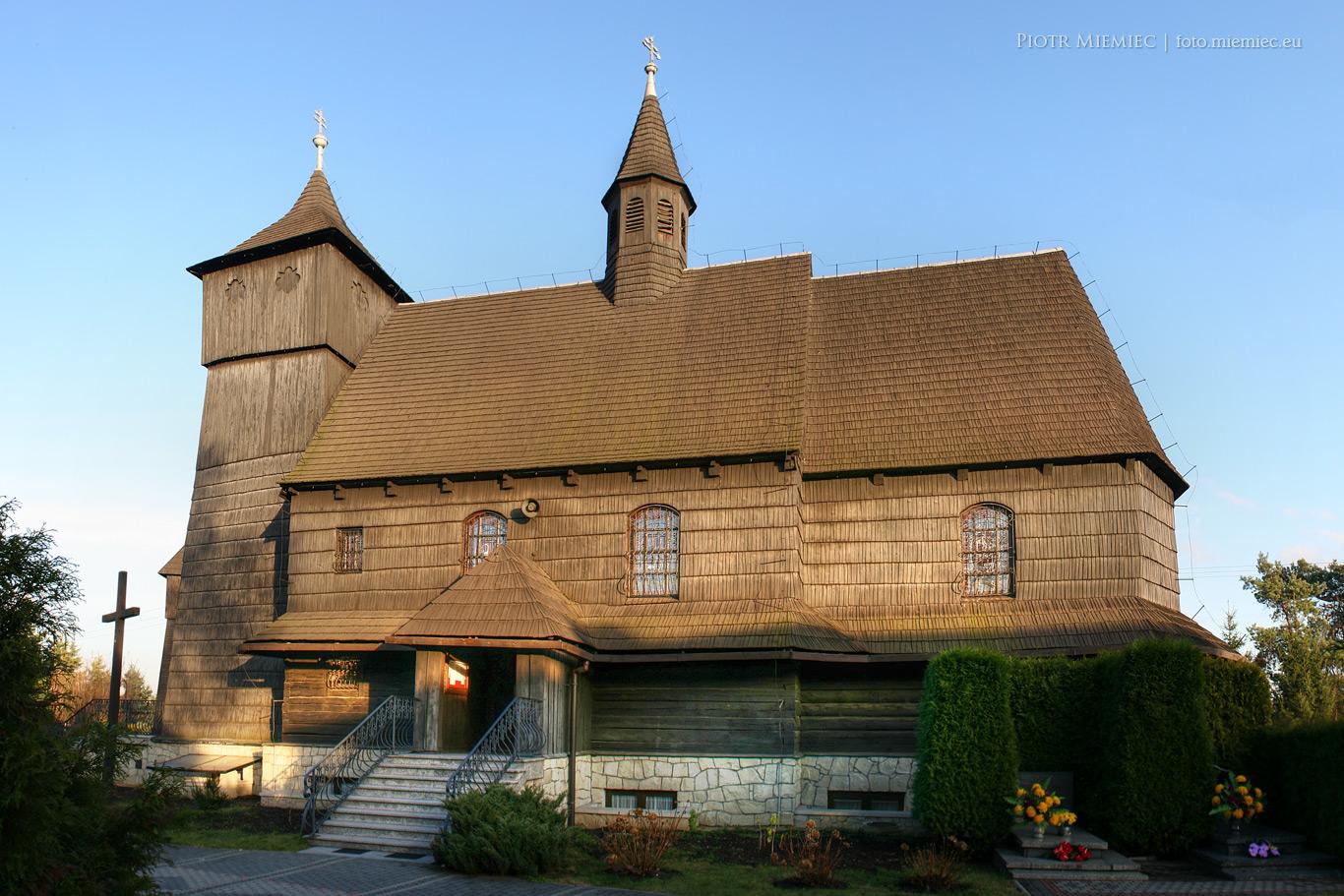 Kościół w Rybniku Wielopolu – listopad 2013