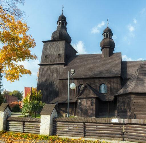Kościół w Borowej Wsi – październik 2017