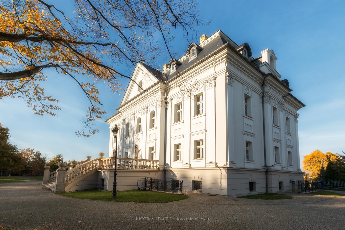 Pałac Borynia – październik 2017