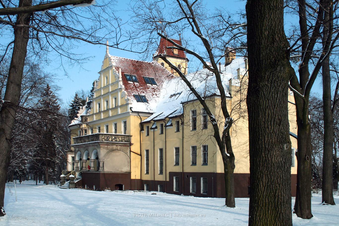 Ornontowice pałac -1