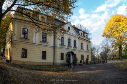 Pałac Rybna – październik 2010