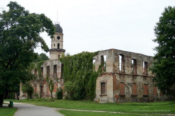 Ruiny pałacu w Strzelcach Opolskich – czerwiec 2010