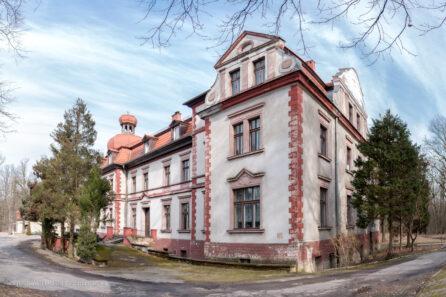 Pałac w Miedarach – luty 2017