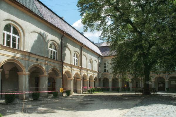 Krapkowice zamek – czerwiec 2008
