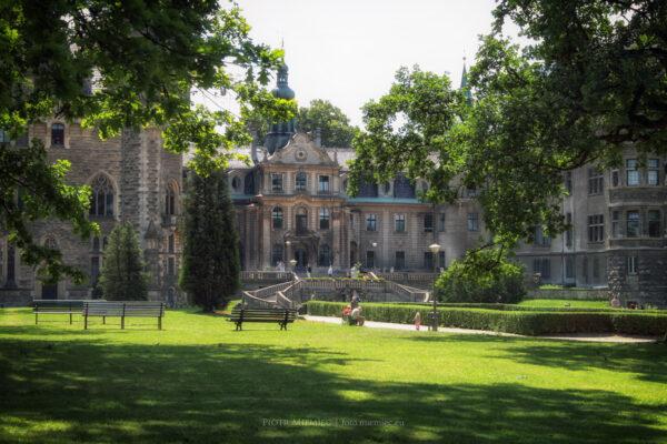 Pałac w Mosznej – czerwiec 2008