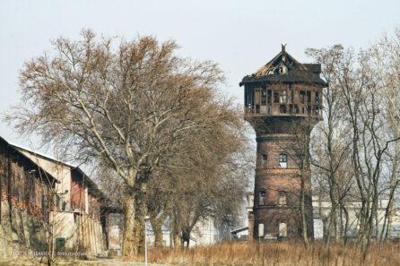Wieża ciśnień Huty Zabrze – luty 2011