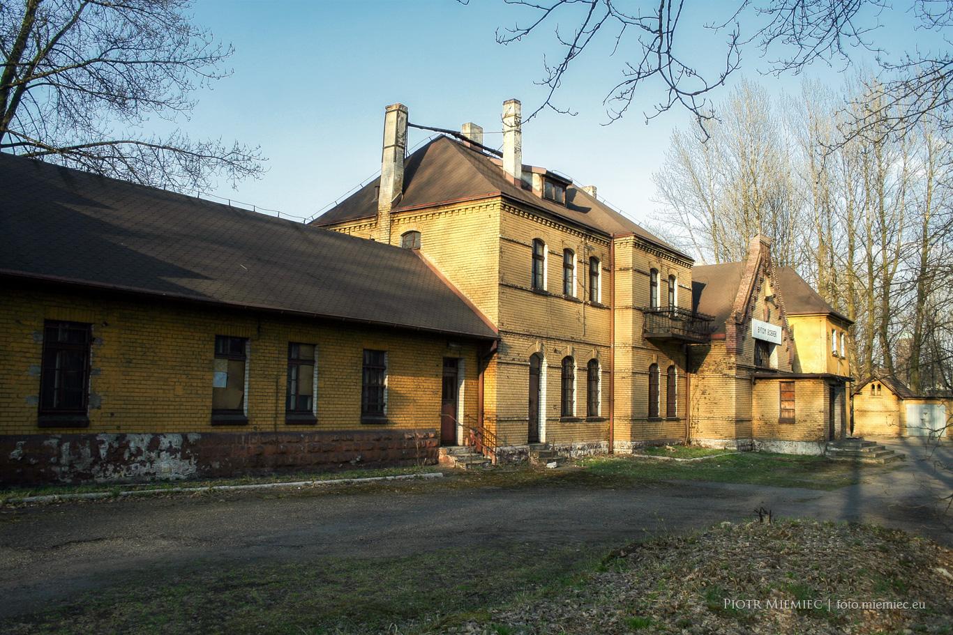 Stacja kolejowa Bytom Bobrek – kwiecień 2011