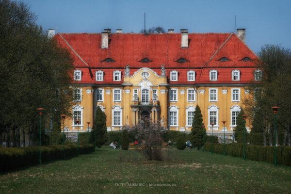 Pałac w Kochcicach – kwiecień 2010