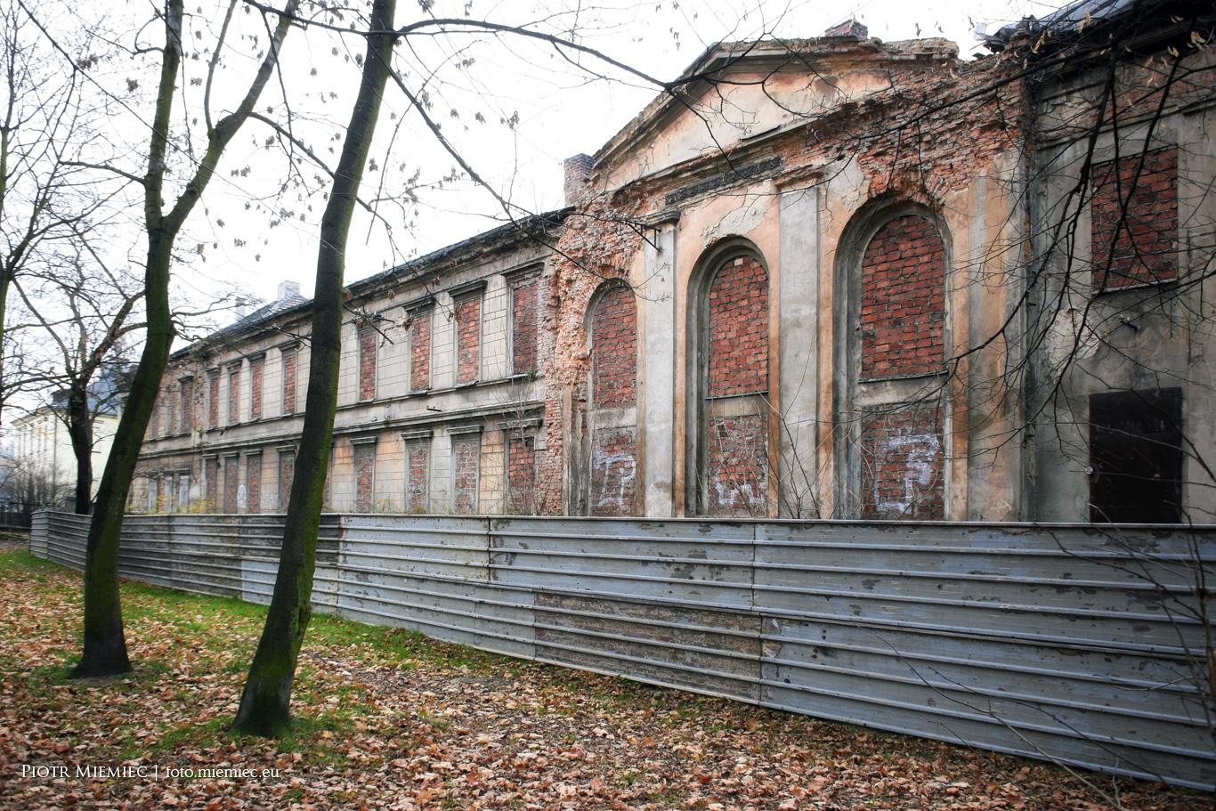 Pałac w Siemianowicach Śląskich – listopad 2013