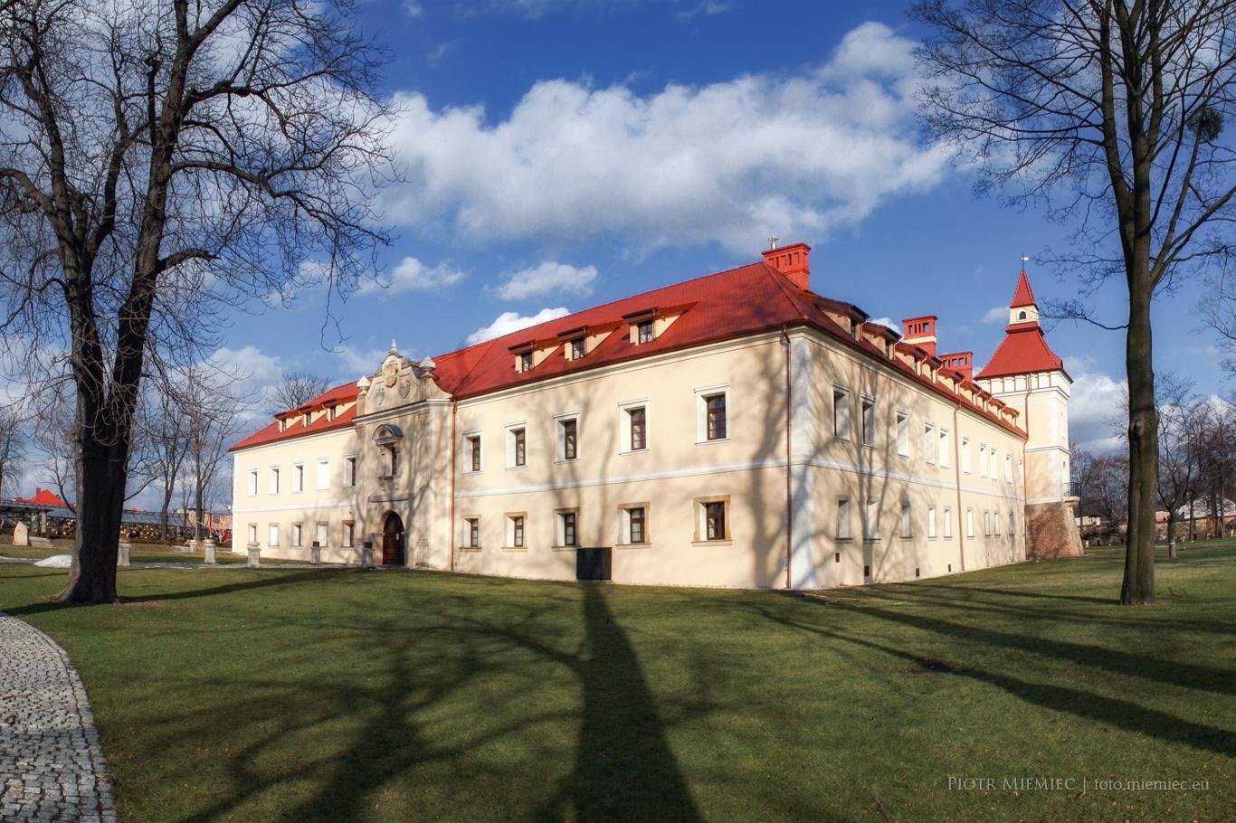 Zamek w Starych Tarnowicach – luty 2012