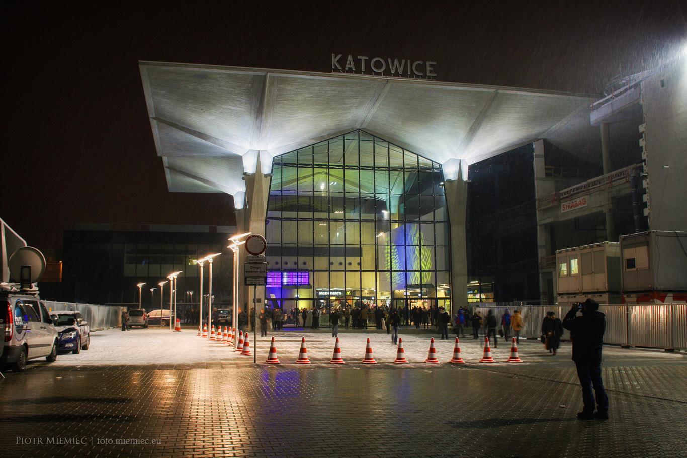 Katowice dworzec kolejowy
